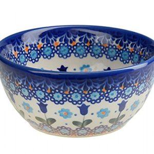 Classic Boleslawiec Pottery Hand Painted Ceramic Bowl Venus 350ml 14oz 40cl 071 U 006 0