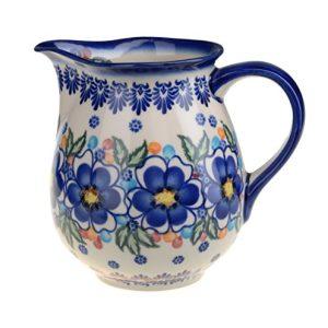 Classic Boleslawiec Pottery Hand Painted Ceramic Jug 13 litre 24 pints 027 U 097 0