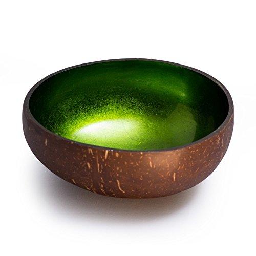 Cocobowl Shiny Coconut Decorative Bowl 0