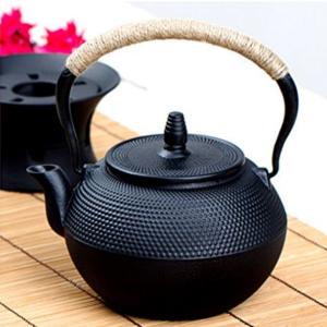 Hand Cast Iron Teapot