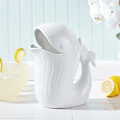 Thar She Blows Porcelain Ceramic Stoneware Whale Pitcher Jug 0
